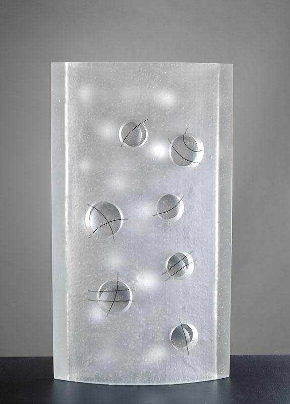 Analogie VII (recto), réf. 080819 épreuve 1/1. 08/2008 dimensions 29x9,5x51 cm
