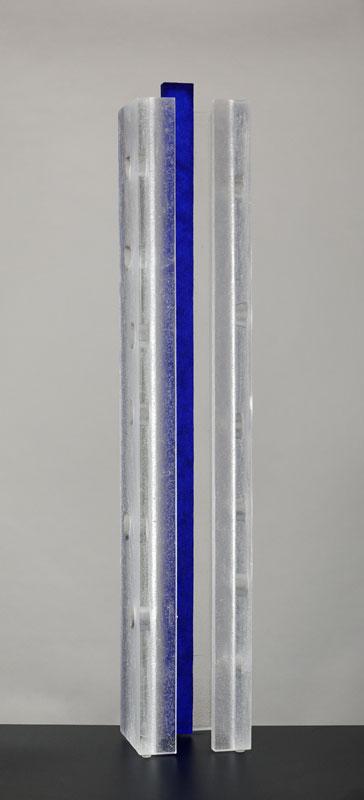 Analogie XI, réf. 090506 épreuve 1/1. 05/2009 dimensions 14,5x14x86 cm