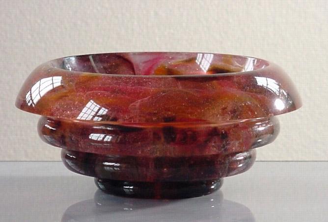 Coupe 04, réf. 00/04. épreuve 1/1. 03/2000 dimensions 20x20x8,5 cm