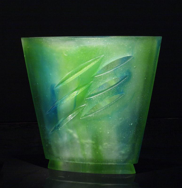 Coupe 3 entailles, réf. 030915. épreuve 1/1. 09/2003 dimensions 29,5x9,5x26,5 cm Photo Marc Wittmer