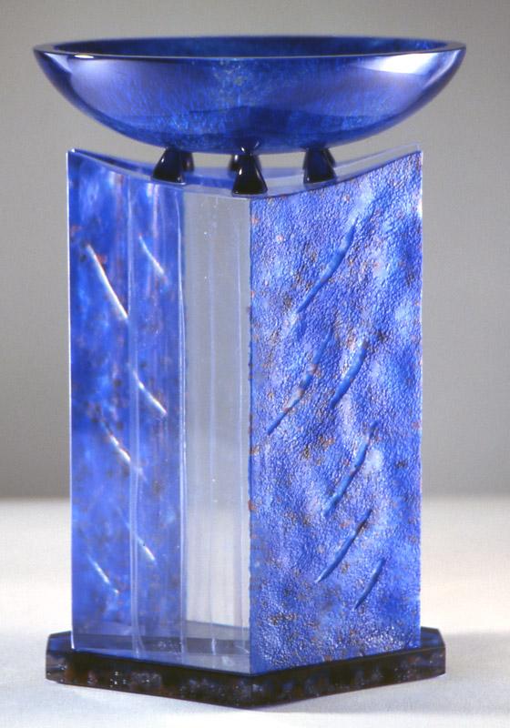 Coupe feedback VI, réf. 99/02. épreuve 1/1. 01/1999 dimensions 23x23x32 cm