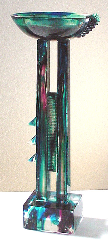 Coupe pasiphae, Modèle de 1991 réf. 659AEL. 3/8. 06/1991 dimensions 18x18x48 cm