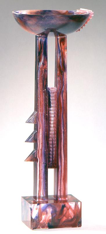 Coupe pasiphae, Modèle de 1991 réf. 684AEL. 6/8. 09/1991 dimensions 18x18x48 cm
