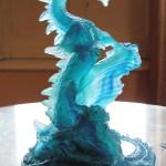 Dragon, Sculpture de Charles-Eric Gogny pour Fondica. 10/2002