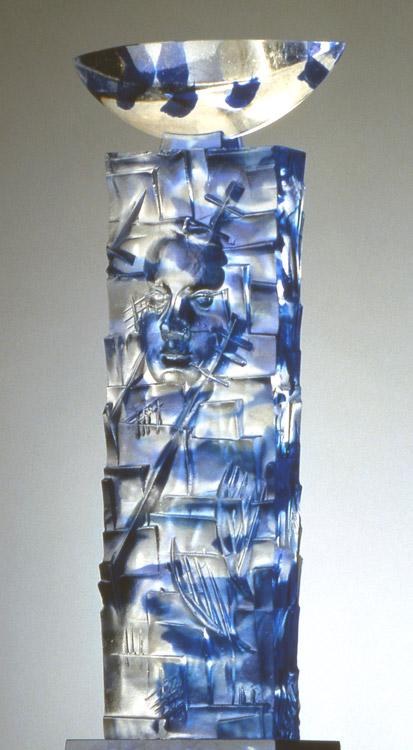 Empreinte double I, réf. 94/01. épreuve 1/1. 06/1994 dimensions 21x10x47 cm