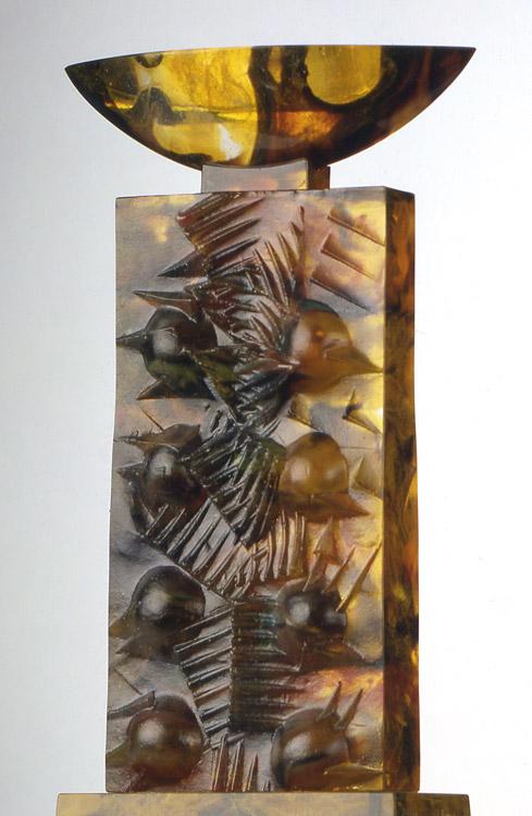 Empreinte double II, réf. 94/03. épreuve 1/1. 10/1994 dimensions 20,5x9,5x34,5 cm