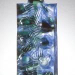 Empreinte double V, réf. 94/06. épreuve 1/1. 11/1994 dimensions 18x18x36,5 cm