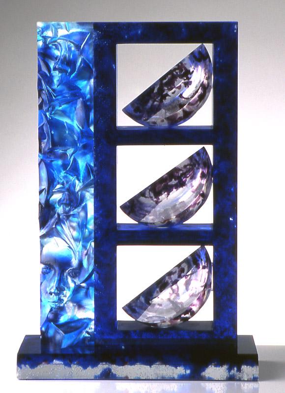Empreinte et son double, réf. 93/02. épreuve 1/1. 07/1993 dimensions 28,5x11x42,5 cm
