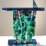 Empreinte I, Modèle de 1991 réf. 627AEL. 2/8. 02/1991 dimensions 35x11x32 cm