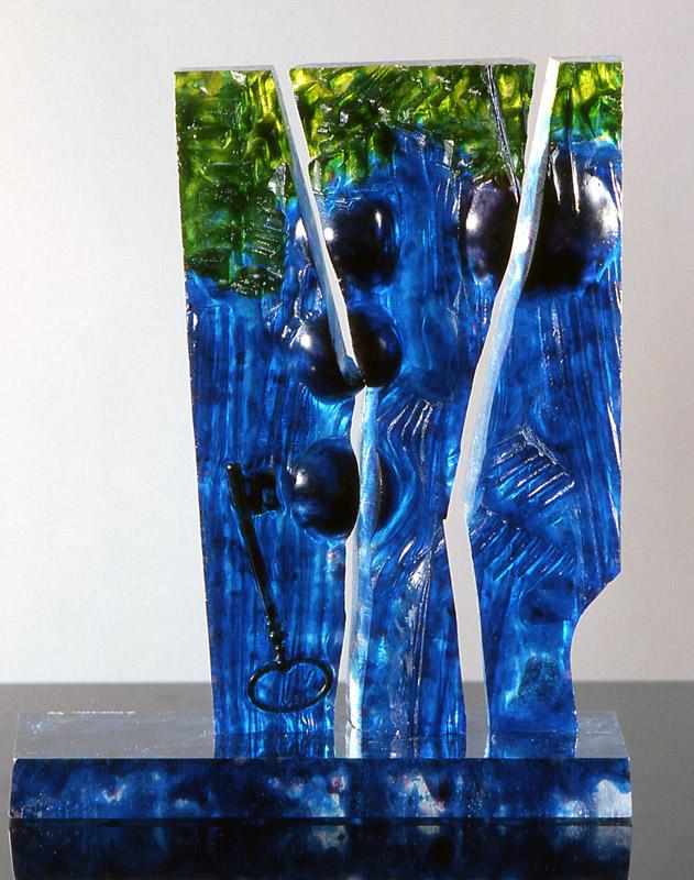Empreinte I, Modèle de 1991 réf. 671AEL. 4/8. 09/1991 dimensions 35x11x26 cm