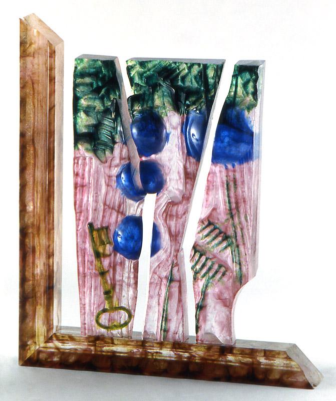 Empreinte II, Modèle de 1991 réf. 621AEL. 1/8. 01/1991 dimensions 32x7x37 cm