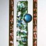 Empreinte suspendue I, réf. 94/07. épreuve 1/1. 11/1994 dimensions 26,5x12x63,5 cm