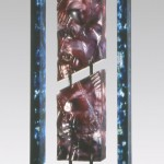 Empreinte suspendue III, réf. 95/01. épreuve 1/1. 02/1995 dimensions 31,5x11,5x52 cm
