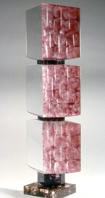 Feedback IV, réf. 97/08. épreuve 1/1. 09/1997 dimensions 29x15x87 cm