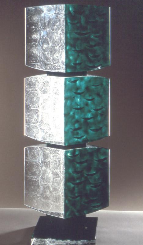 Feedback VI, réf. 97/10. épreuve 1/1. 11/1997 dimensions 30x22x82 cm