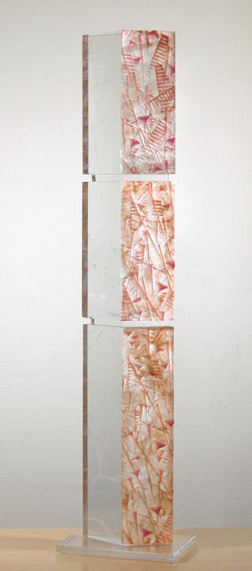 Feedback XLIII, réf. 030603. épreuve 1/1. 06/2003 dimensions 30x20x120 cm