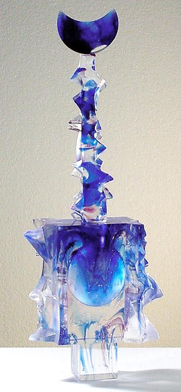 Flacon empreinte II, Modèle de 1994 réf. 802AEL. 3/75. 05/1994 dimensions 17x9x45 cm