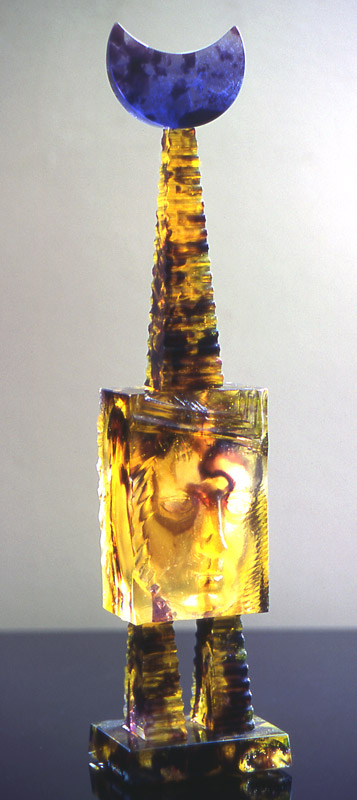 Flacon empreinte III, Modèle de 1994 réf. 796AEL. 1/75. 04/1994 dimensions 10x9x40 cm