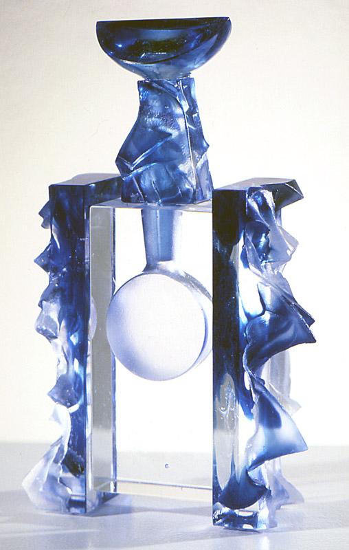 Flacon empreinte IV, Modèle de 1994 réf. 816AEL. 6/75. 10/1994 dimensions 16x6x25 cm