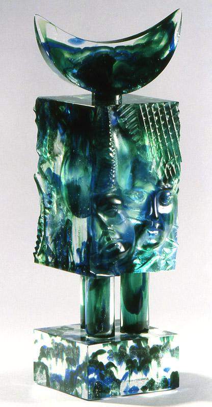 Flacon masque, Modèle de 1991 réf. 767AEL. EA4/4. 02/1993 dimensions 12x12x44 cm