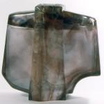 Grand vase couvert, Modèle de 1984 réf. 319AEL. 10/1986 dimensions 29x12x27 cm