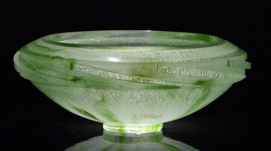 Grande vasque, réf. 030914. épreuve 1/1. 09/2003 dimensions 52x52x20 cm Photo Marc Wittmer