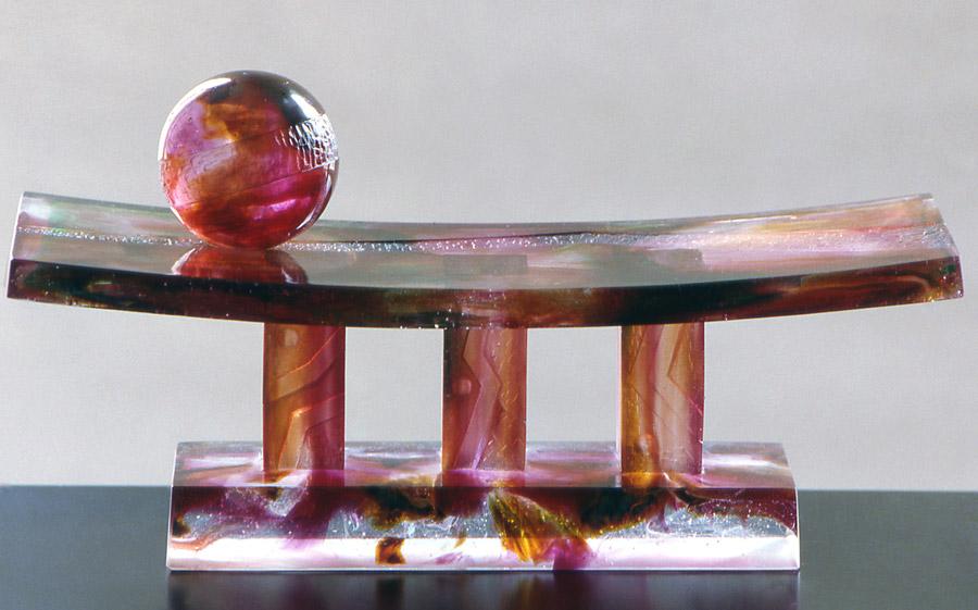L'attente, Modèle de 1985 réf. 460AEL. 01/1989 dimensions 38x14x19 cm Photo Gilles de Chabaneix