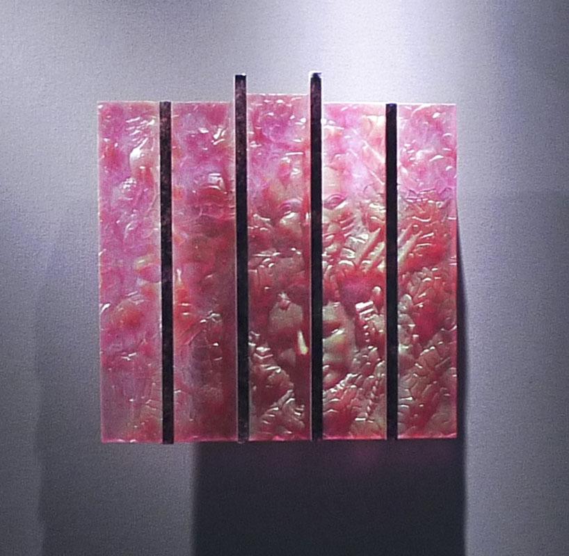 Leitmotiv II, réf. 090623 épreuve 1/1. 06/2009 dimensions 39x5x40 cm