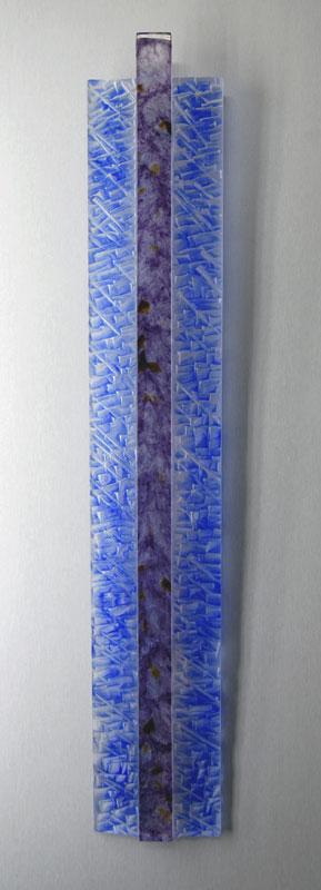 Ligne verticale I, réf. 090603 épreuve 1/1. 06/2009 dimensions 15,5x5x96 cm