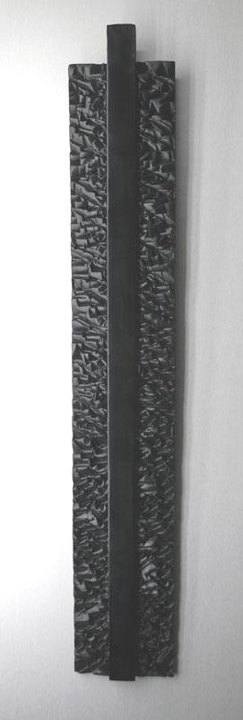 Ligne verticale II, réf. 090604 épreuve 1/1. 06/2009 dimensions 15,5x5x96 cm