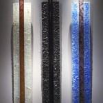 Lignes verticales, Epreuve 1/1. 06/2009 dimensions 70x5x96 cm
