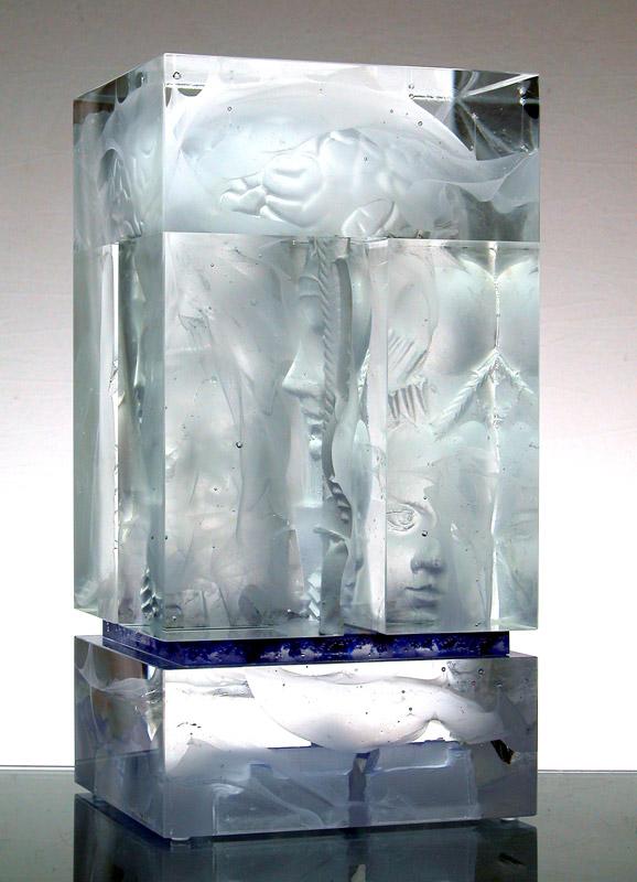 Matière à réflexion II, réf. 030402. épreuve 1/1. 04/2003 dimensions 19,5x18x37 cm