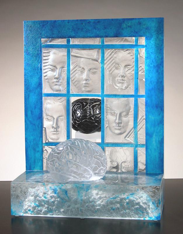 Matière à réflexion III, réf. 040626. épreuve 1/1. 06/2004 dimensions 39x35x52 cm