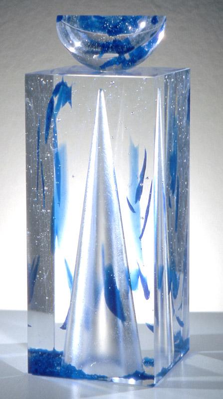 Ombre passagère, réf. 93/14. épreuve 1/1. 11/1993 dimensions 14,5x14,5x40 cm