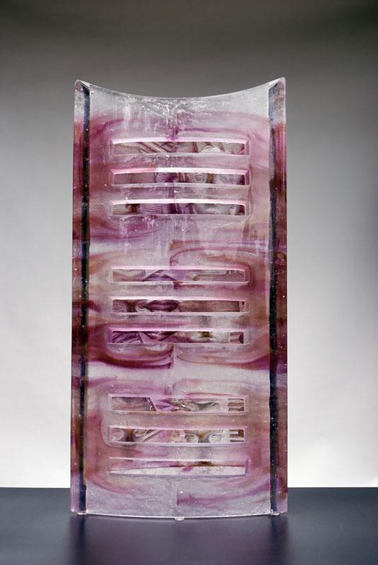 Persiennes, réf. 070623 épreuve 1/1. 06/2007 dimensions 29x9,5x59 cm