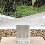 Regards croisés, Sculpture de Pierre Magnin réf. 040521. épreuve 1/1. 05/2004 dimensions 59x34x31,5 cm