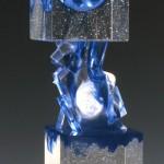 Tête-Bêche III, Modèle de 1992 réf. 757AEL. 4/8. 10/1992 dimensions 11x11x32 cm