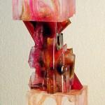 Tête-Bêche X, Modèle de 1991 réf. 756AEL. 4/8. 10/1992 dimensions 8,5x8,5x31 cm