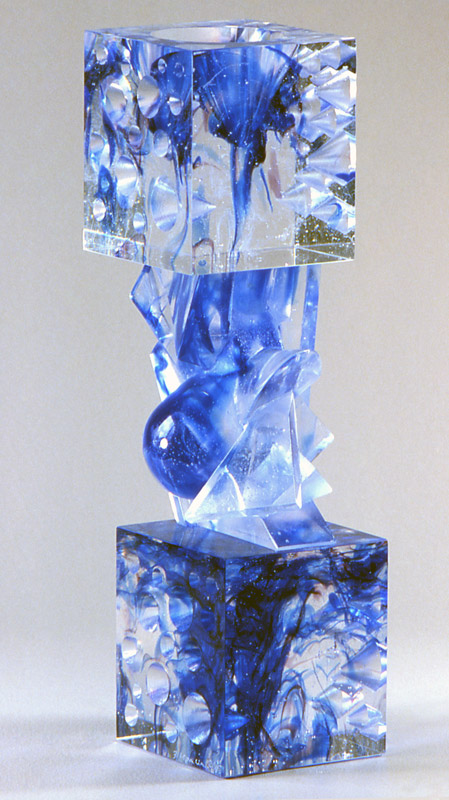 Tête-Bêche XIV, Modèle de 1992 réf. 739AEL. 2/8. 04/1992 dimensions 8,5x8,5x31 cm