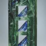 Triade II, réf. 96/02. épreuve 1/1. 03/1996 dimensions 16,5x18x45,5 cm