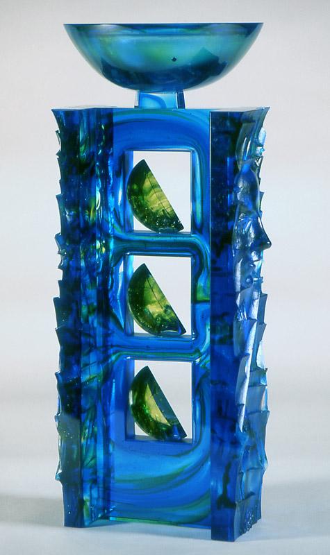 Triade VII, réf. 97/01. épreuve 1/1. 01/1997 dimensions 23x17x45 cm