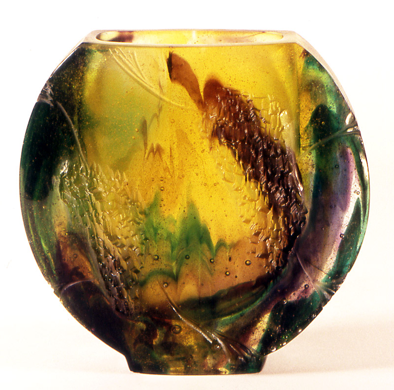 Vase N°11, Modèle de 1983 réf. 4AE/CP. 04/1984 dimensions 16,5x6x15 cm