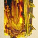 Vase N°38, Modèle de 1990 réf. 747AEL. 8/8. 07/1992 dimensions 9x7x19 cm