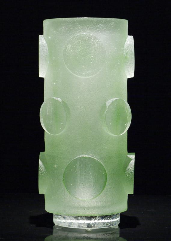 Vase rouleau, réf. 030902. épreuve 1/1. 09/2003 dimensions 17x17x35,5 cm Photo Marc Wittmer