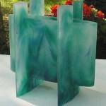 Vase suspendu, réf. 030923. épreuve 1/1. 09/2003 dimensions 30x17,5x29 cm