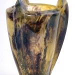 Vase trois griffes, Modèle de 1981 réf. 225AEL. 09/1985 dimensions 11,5x11,5x15 cm