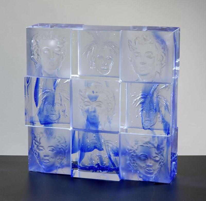 ViceVersa, réf. 070216. épreuve 1/1. 02/2007 dimensions 29,5x9x29,5 cm